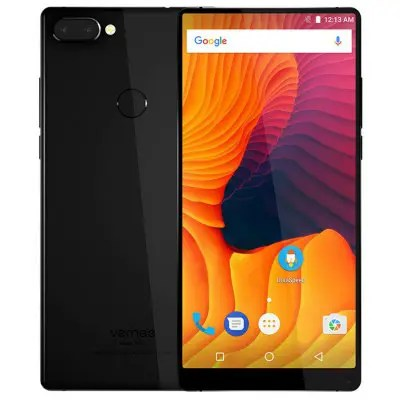 Vernee Mix 2 4GB RAM 64GB ROM 13.0MP + 5.0MP Dual Rear Cameras Black Color 4G Phablet