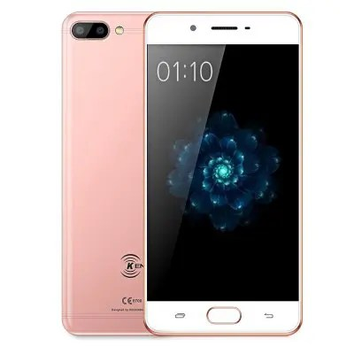 Ken Xin Da X6 3GB RAM 32GB ROM Rose Gold Color 4G Smartphone