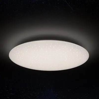 Gearbest Xiaomi Yeelight JIAOYUE YLXD05YL 480 LED Ceiling Light 200 - 240V - WHITE STARRY LAMPSHADE Smart APP / WiFi / Bluetooth Control with Remote Controller