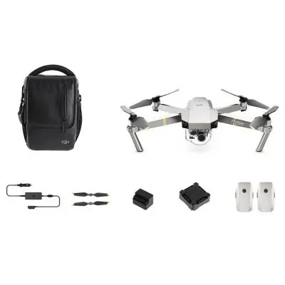 DJI Mavic Pro Platinum Foldable RC Quadcopter - RTF - FLY MORE COMBO PLATINUM