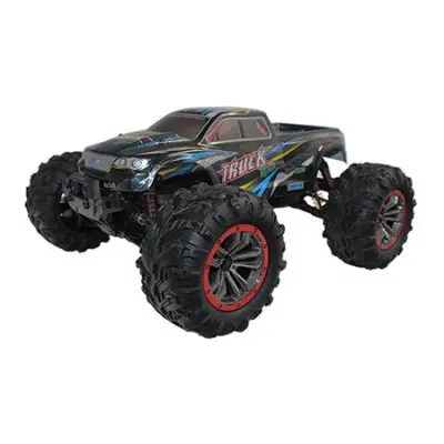 Gearbest XinLeHong Toys 9125 1:10 Brushed 4WD Off-road RC Car - BLUE AND BLACK 46km/h High Speed