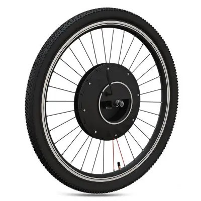 26 inch Electric Bike Front Wheel E-bike Bicycle Conversion Kit - BLACK