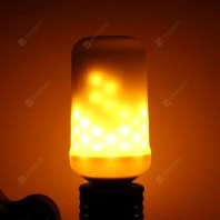 E27 Flame Flickering Breathing General Modes Halloween Decoration LED Lights Bulb AC 85 - 265V