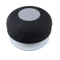 Waterproof Bluetooth 3.0 Speaker Suction Cup Hands-free Sound