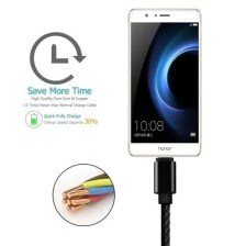 Micro USB Type C Cable Charging Sync Braided 1FT 3FT 6FT 10FT Cable For Samsung Galaxy S3 S4 S5 S6 S8 huawei xiaomi