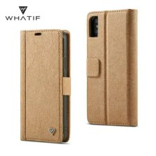 WHATIF for iPhone X DIY Flip Wallet Case with Card Slot Function Removable Cover