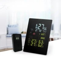 Wireless Remote Sensorpower Digital Alarm Clock