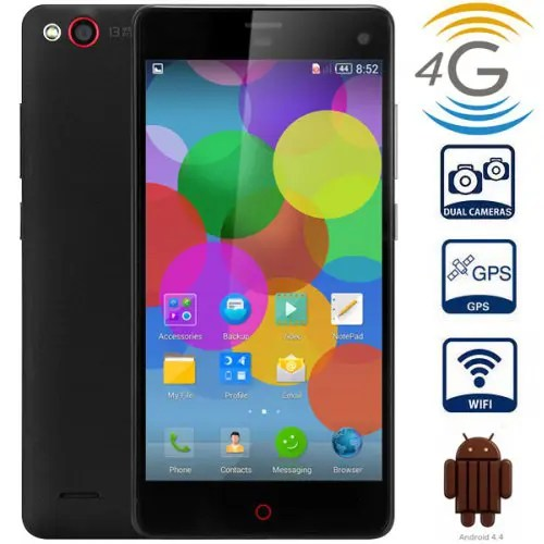 Nubia Z7 MINI Android 4.4 4G Phablet with 5.0 inch FHD IPS Screen MSM8974 2.0GHz Quad Core 2GB RAM 16GB ROM WiFi GPS Gesture Sensing Dual Cameras
