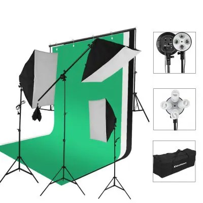 Excelvan SHLP - 045 2000W Photo Studio Continuous Lighting Kit