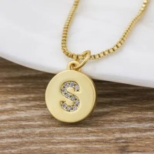 Women Girls Letters Necklace Long Charm Personalized Good Chains for Sale