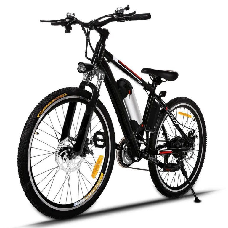 Ancheer 26 inch Wheel Aluminum Alloy Frame Mountain Bike Cycling Bicycle - Black Germany(Entrepôt EU )  5%commissions - 499.04€