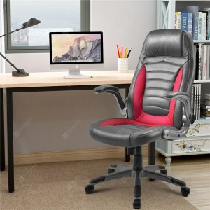 Office Chair Desk Ergonomic Swivel Executive Adjustable Task Computer High Back Chair With Lift Arms