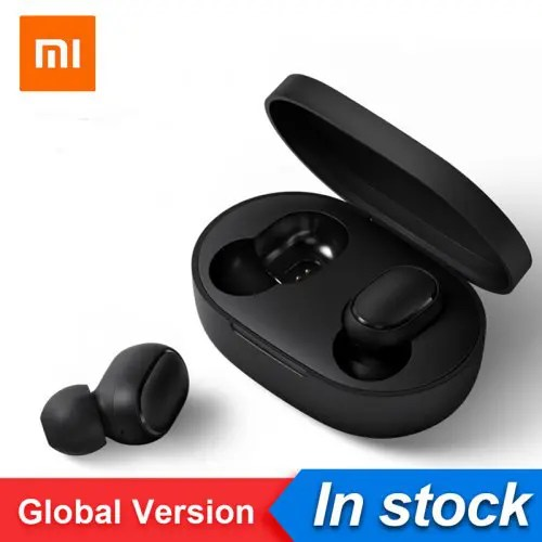 Original Xiaomi Redmi AirDots TWS Bluetooth Wireless Earphones Headset CN Or Global Version