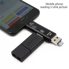 type-c Card Reader Multi-function Card Reader Otg Smart Multi-function TF Card Reader Usb All-in-one