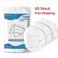20Pcs US Stock KN95 Disposable Protective Masks Non Medical For Health - Dustproof