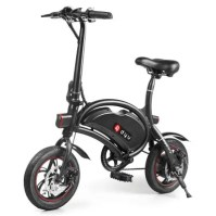 F - wheel DYU D2 Folding Electric Bike 5.2Ah Battery EU Plug