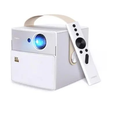 Gearbest XGIMI CC Mini Portable Projector LED 1080P Full HD - CRYSTAL CREAM Android 5.1.1 3D 1280 x 720 WiFi HDMI Bluetooth Home Theater