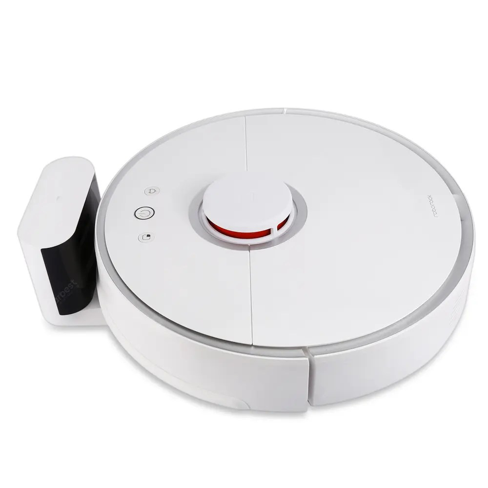 roborock S50 Smart Robot Vacuum Cleaner from Xiaomi youpin – White Roborock S50 Secon 14Aug