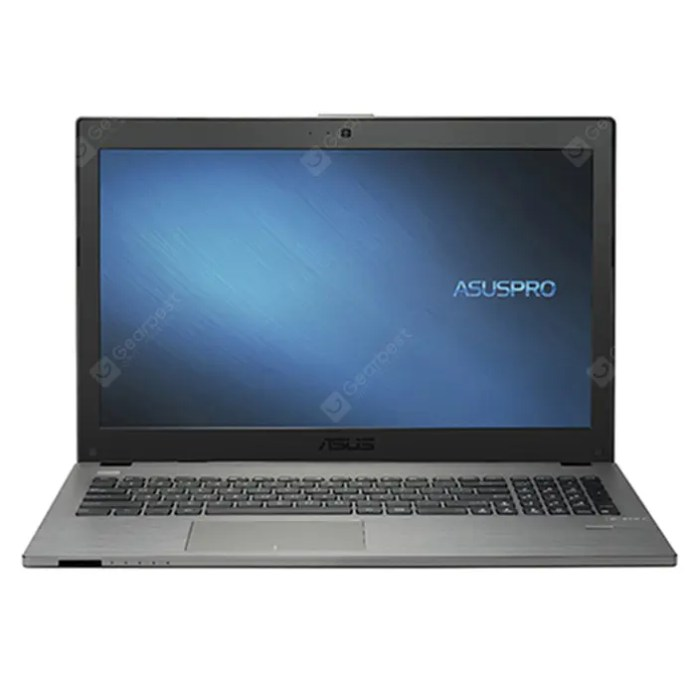 ASUS Pro554NV3350 Notebook Fingerprint Recognition