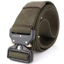 ENNIU Male Outdoor Training Belt with Cobra Buckle