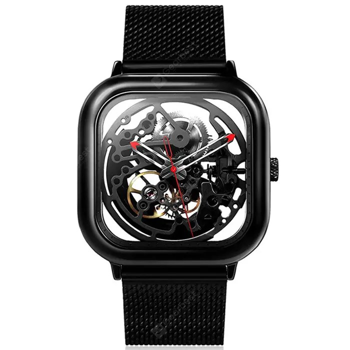 Gearbest Xiaomi Youpin CIGA Automatic Mechanical Watch - BLACK