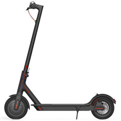 Gearbest Original Xiaomi M365 Folding Electric Scooter - BLACK E - ABS Technology / Kinetic Energy Recovery System / Cruise Control Function / Intelligent BMS