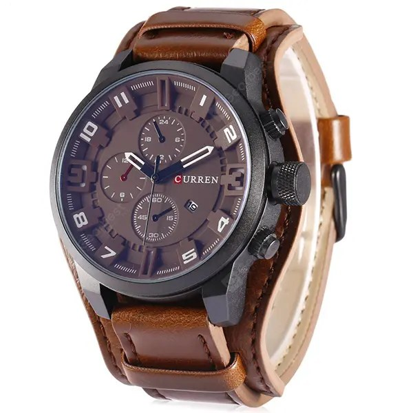 CURREN 8225 Casual Men Quartz Watch 29May