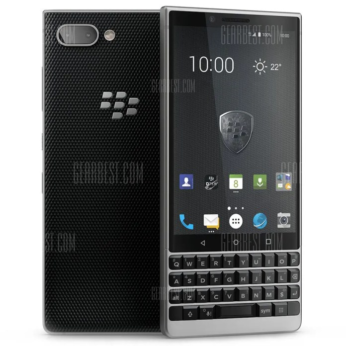 BlackBerry KEY 2 3G Smartphone International Edition