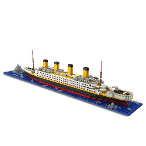 DIY Titanic Shape Block Toys for Children