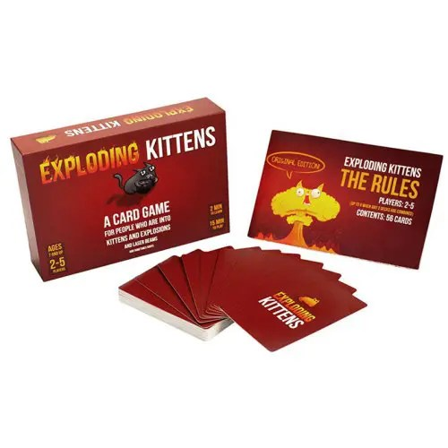 Exploding Cats Card Game