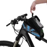 ROCKBROS Waterproof Saddle Bag Mobile Phone Bicycle for Cycling