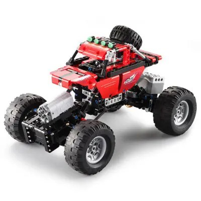 CaDA Assembling Building Blocks Off-road Car Toy