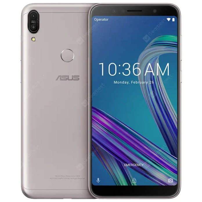 ASUS ZenFone Max Pro ( M1 ) Octa Core 4G Phablet Global Version B Edition