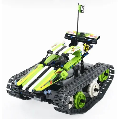 DIY Electrical Remote Control Building Block Special Vehicle Toy