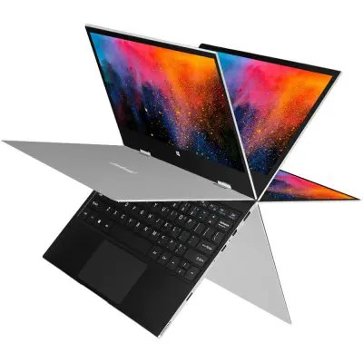 Gearbest JUMPER EZbook X1 Laptop 360 Degree Rotating Multi Touch - SILVER 11.6 inch Intel Celeron Gemini Lake N4100 Windows 10 64 Bit