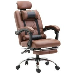 Ergonomic Computer Chair Wholesale Folding Chairs Office Gaming With Leg Supporter