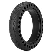 gocomma Rubber Solid Rear Tire with Hollow Design