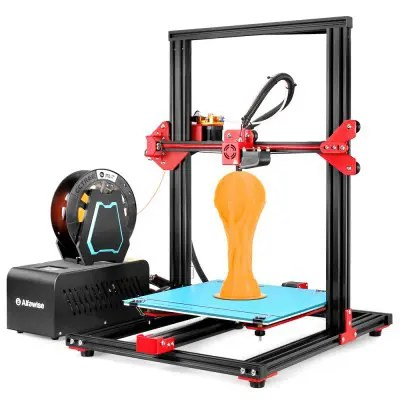 Alfawise U20 Large Scale Touch Screen DIY 3D Printer - BLACK