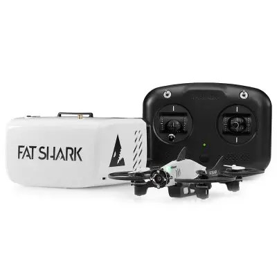 Fat Shark 101 FPV Drone Training System Quadcopter Goggle Radio Simulator