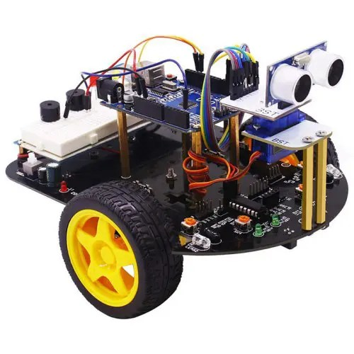 Yahboom DIY STEM Education Smart Robot Car 2-in-1 Toy for Arduino