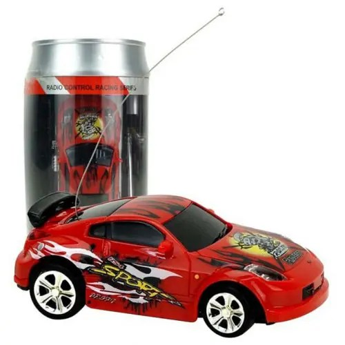 2010b 1/58 Mini Ring-pull Can RC Car Toy Gift for Children