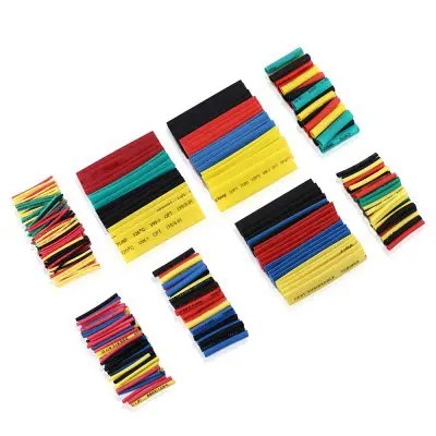 Gocomma 8 Specifications Colorful Polyolefin Heat Shrinkable Tube Cable 328pcs MULTIA