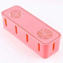 Wire Socket Storage Box Cooling Hole Power Cable Plastic Card