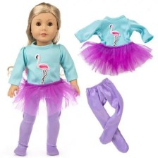 18 Inch American Girl Simulation Baby Rebirth Doll Clothes