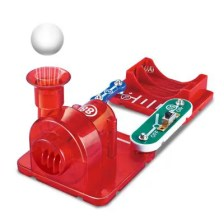 Electronic Building Blocks Bubble Machine Vacuum Cleaner Suspension Ball Physical Circuit Toy