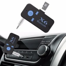Bluetooth 3.5mm Audio Card Player Adapter