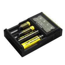 Nitecore D4 Universal LCD Electronic Cigarette Battery Charger 21700 18650 Charger