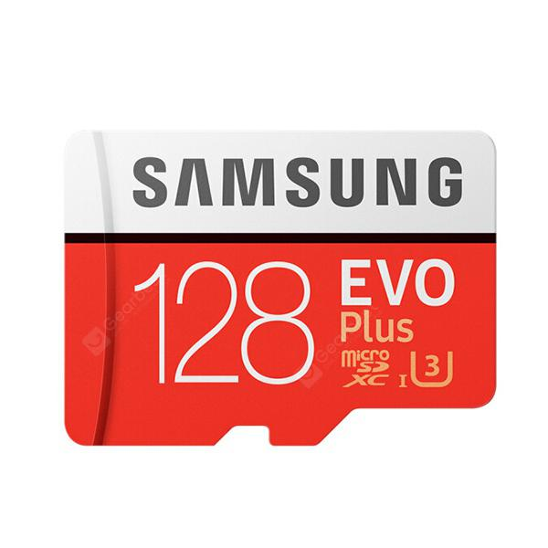 Samsung UHS-3 Class10 Micro SDXC Memory Card –Red 128G 8Oct