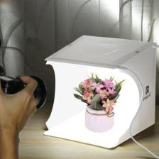 Alfawise PULUZ PU5022 Mini Folding Photostudio Lightbox with 2 LED Panels