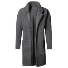 Double-sided Wear-resistant Thick Warm Long Coat